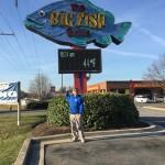 #4 big neon fish