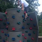 #40 rock climbing wall